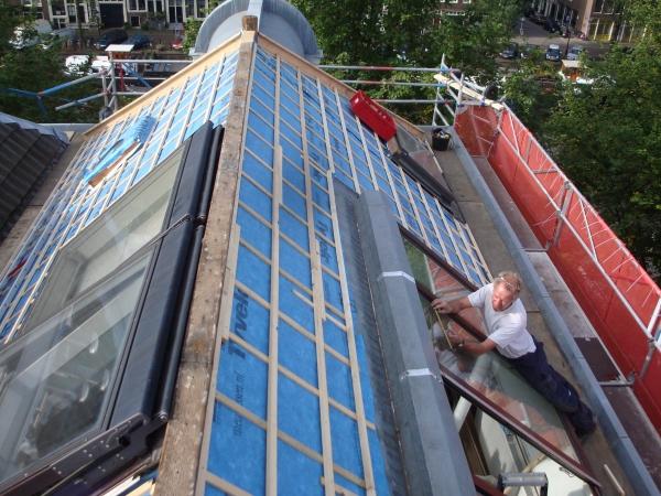 Nieuw dak en ramen