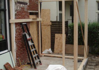 Woning aanbouw